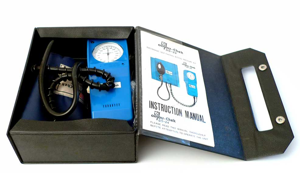 Esfigmomanómetro electrónico Ombu-chek DS-24