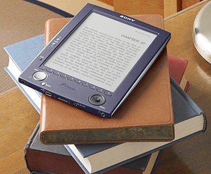 Lector de libros electrónicos (La imagen procede de Wikipedia)