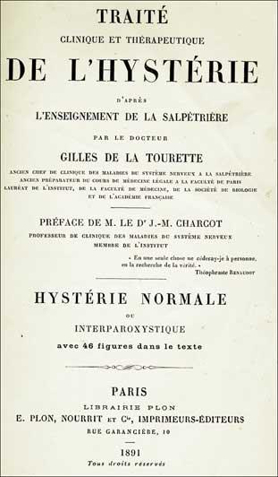 Tourette libro